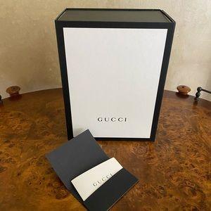 Authentic Gucci paper gift box